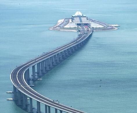 港珠澳大桥 将于24日正式通车