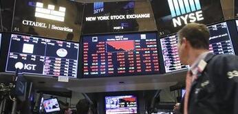 涨势受挫 纽约股市三大股指收盘下跌