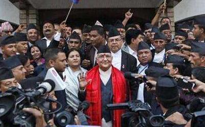 尼泊尔总理奥利赢得议会信任投票