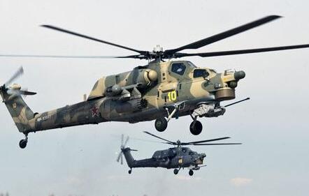 俄罗斯一武装直升机在叙利亚坠毁:两名飞行员死亡