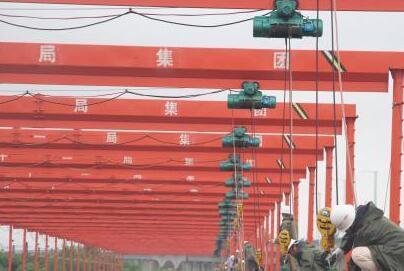 商合杭高速铁路安徽段开始准备铺轨
