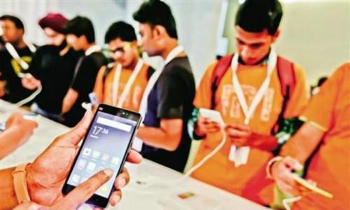 印度50%的智能手机市场份额被中国占据!