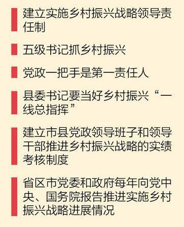 起草组成员解读中央一号文件:乡村振兴关键在党