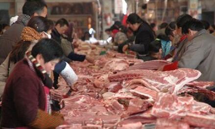 西藏加大肉食产品市场供应