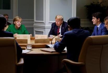 特朗普拒绝承认G7联合公报 贸易争端难缓和?