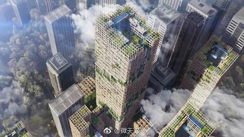 日本公司将建世界最高木质摩天大楼