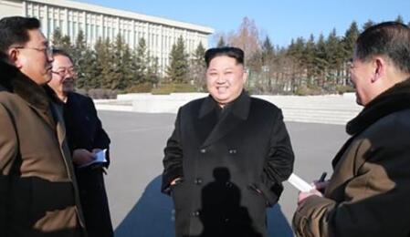 金正恩视察朝鲜国家科学院 系新年后首次公开露面