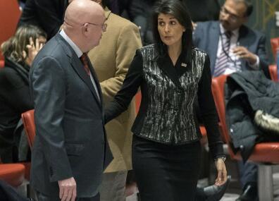 安理会紧急会议讨论伊朗 俄罗斯强烈批评美国多事