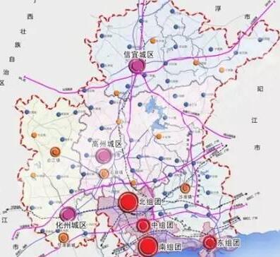 市域城镇体系空间结构