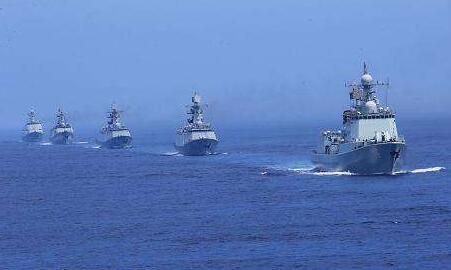 俄太平洋舰队编队启程参加中俄海上联演