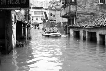 罕见雨灾肆虐西日本 已致85人遇难