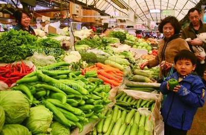 蔬菜价格总体下降 肉类价格仍处高位