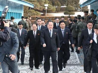 朝鲜代表团参加在韩举办的亚太和平繁荣大会