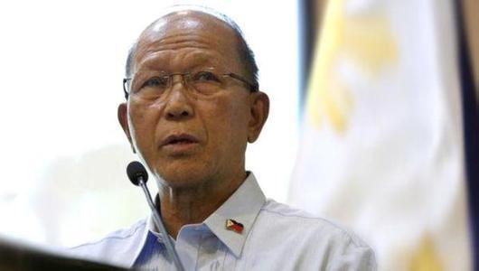 菲律宾防长:特朗普是商人 中美不会为南海而战