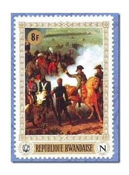 法国发行拿破仑诞生250周年纪念邮票
