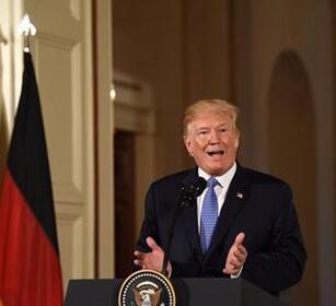 特朗普抵达欧洲将展开访问 再度批评北约盟国