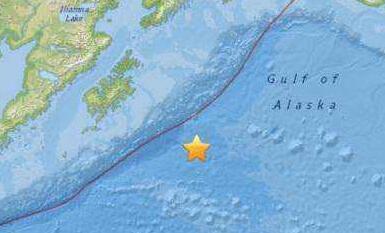 俄千岛群岛海域发生6.3级地震 无海啸警报