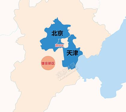 """北京疏解城市病:形成""""一核两翼""""新格局"""