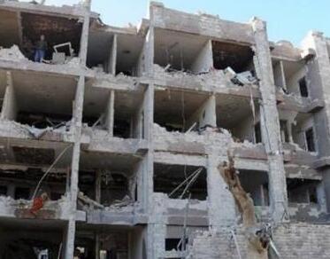 俄驻叙利亚大马士革贸易代表处遭炮击 建筑被损毁