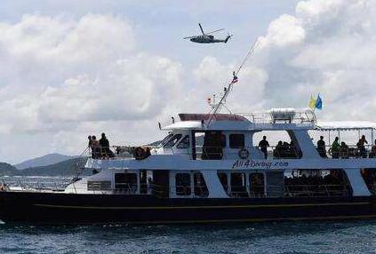 """泰海军人员:目前尚不具备打捞""""凤凰""""号的条件"""