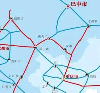 重磅!13市区县谋划共建南充至泸州城际铁路