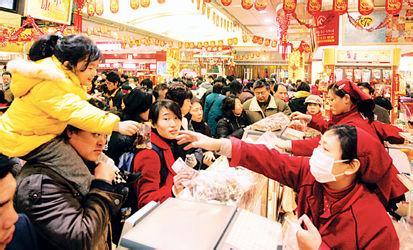 5年以来春节黄金周消费首次实现增长