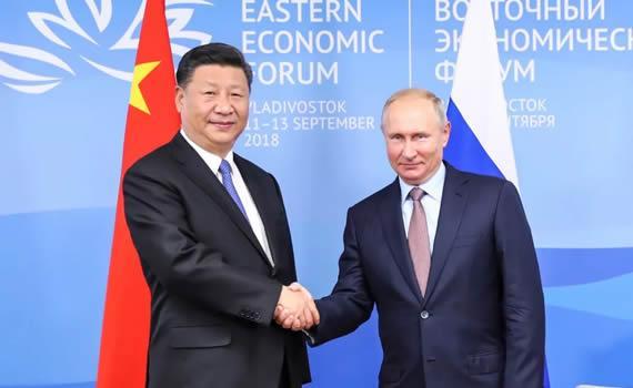关于中俄合作和东北亚和平发展,习近平提出这样干