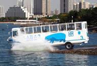 日本水陆两用巴士在东京正式运行