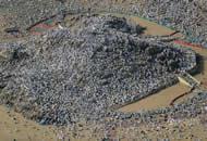 """全球穆斯林齐聚沙特""""圣山""""参加朝觐 场面壮观"""