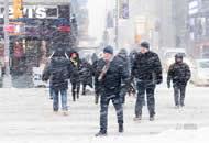 """""""炸弹气旋""""肆虐纽约 800万人面临暴雪威胁"""