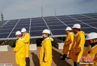 切尔诺贝利核废墟太阳能发电厂投入运营