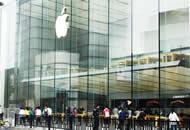 苹果新品正式发售 门店冷清几乎无人排队