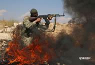 """叙利亚""""最后之战""""一触即发 反对派武装训练备战"""