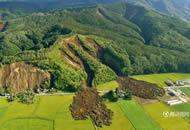 日本北海道地震山崩地裂 灾民排长队购买生活用品